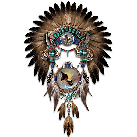 Wall Decor: Ted Blaylock Soaring Sentinels Headdress Masterpiece Wall Decor
