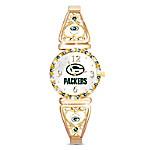 My Green Bay Packers NFL Women's Stretch Watch
