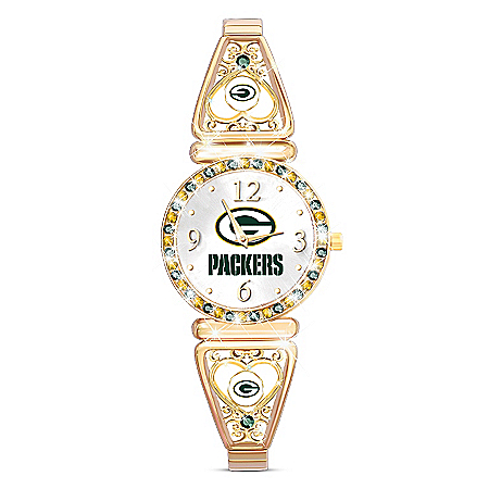 My NFL Green Bay Packers Women's Stretch NFL Watch
