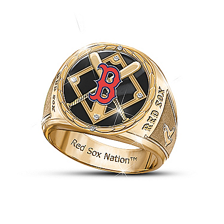Pride Of Boston Commemorative Men's Ring