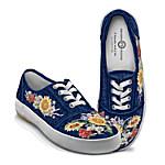 Lena Liu Garden Of Sunshine Floral Art Women's Shoes