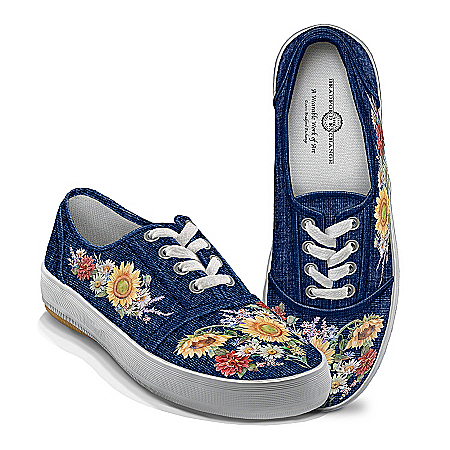Lena Liu Garden Of Sunshine Floral Art Women's Shoes