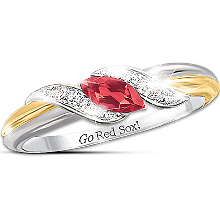 Ring: Pride Of Boston - Red Sox Embrace Ring