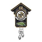 Cuckoo Clock - New Orleans Saints Cuckoo Clock