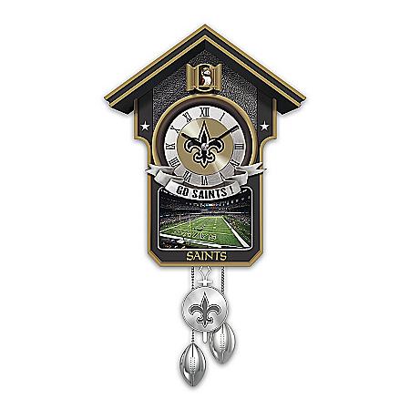 Cuckoo Clock: New Orleans Saints Cuckoo Clock