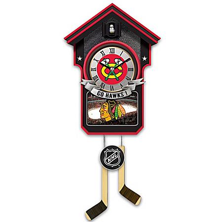 Cuckoo Clock: Chicago Blackhawks® Cuckoo Clock