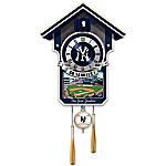 Cuckoo Clock - Moments Of Greatness - The New York Yankees Cuckoo Clock