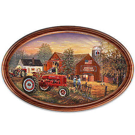 Plate: Family Tradition Personalized Collector Plate