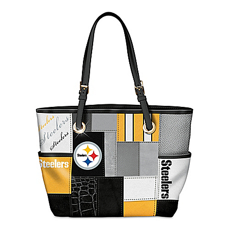For The Love Of The Game NFL Pittsburgh Steelers Tote Bag