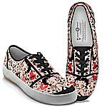 Betty Boop Retro Art Women's Canvas Shoes