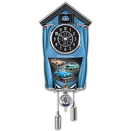 Studebaker Classic American Automobile Cuckoo Clock