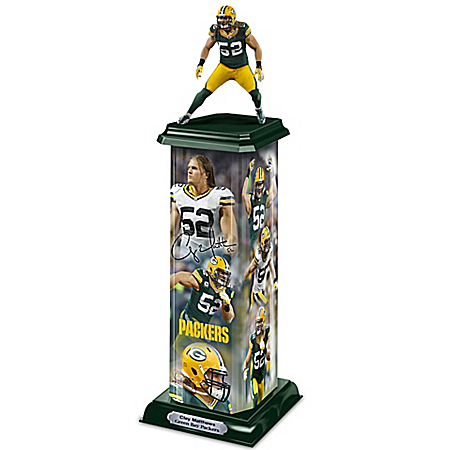 Sculpture: Clay Matthews: Legend In Action Illuminating Sculpture