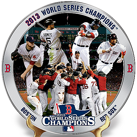 Collector Plate: 2013 World Series Boston Red Sox Collector Plate