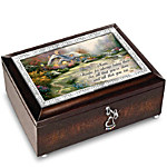 Music Box - Thomas Kinkade Forever In Mother's Heart Personalized Music Box