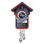Cuckoo Clock: Denver Broncos Cuckoo Clock
