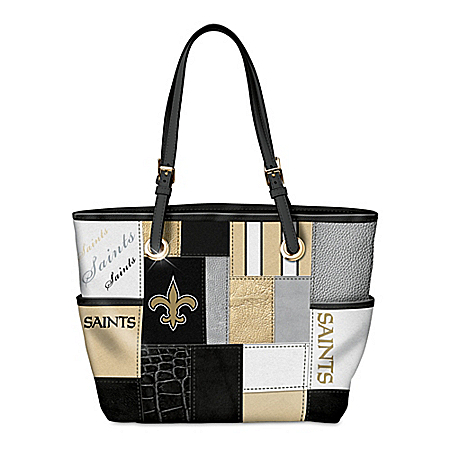 For The Love Of The Game NFL New Orleans Saints Women's Tote Bag