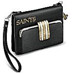 New Orleans Saints Crescent City Chic Mini Handbag