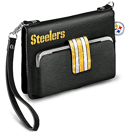 Pittsburgh Steelers Downtown Chic Mini Handbag