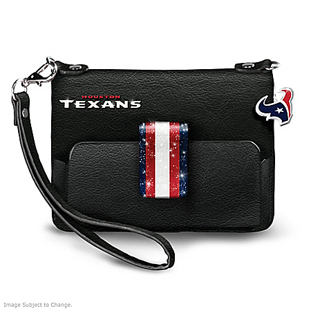 NFL-Licensed Houston Texans H-Town Chic Mini Handbag