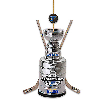 St. Louis Blues® 2019 NHL® Stanley Cup® Christmas Ornament