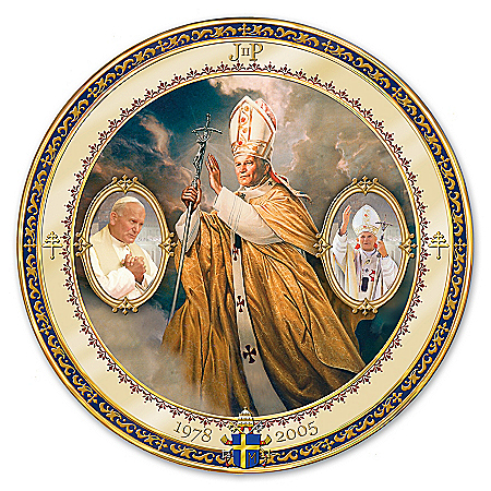 Plate: Saint John Paul II Masterpiece Edition Collector Plate