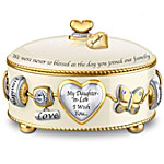 Music Box - Daughter-In-Law, I Wish You Personalized Music Box
