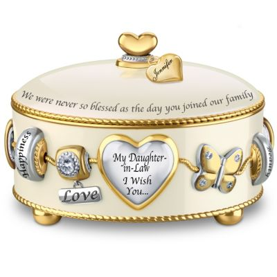 Bradford Exchange Daughter-In-Law, I Wish You Personalized