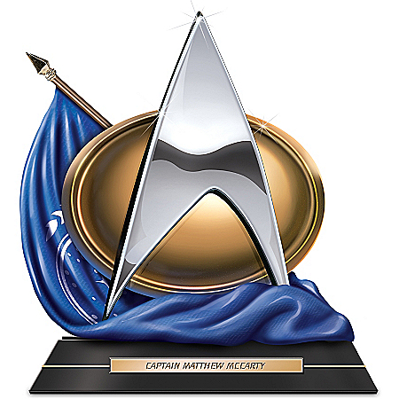 Sculpture: STAR TREK The Next Generation To Boldly Go Personalized Sculpture
