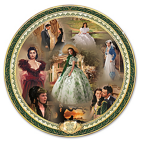 Plate: Gone With The Wind Masterpiece Edition Collector Plate 119959001