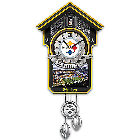 Officially Licensed Choose Your Team NFL Cuckoo Clock: 1 of 10,000