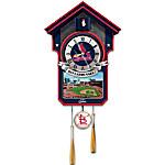 Cuckoo Clock - Moments Of Greatness St. Louis Cardinals Cuckoo Clock