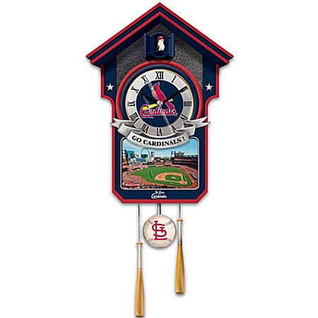 Cuckoo Clock: Moments Of Greatness St. Louis Cardinals Cuckoo Clock