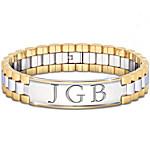 Bracelet - Always, My Grandson Personalized Men's Bracelet