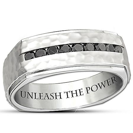 Men's Stainless Steel Ring: Unleash The Power Of Thor's Hammer Ring