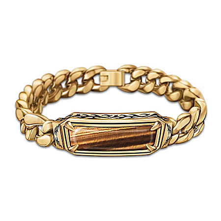 Unleash The Power Of The Tiger's Eye Men's Bracelet
