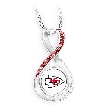 Chiefs Super Bowl LIV Champions Infinity Pendant