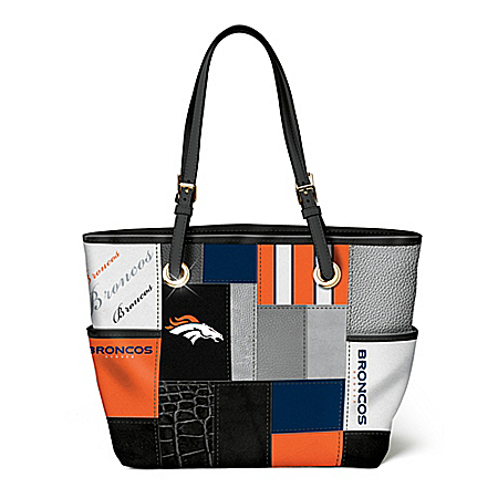 For The Love Of The Game NFL Denver Broncos Tote Bag