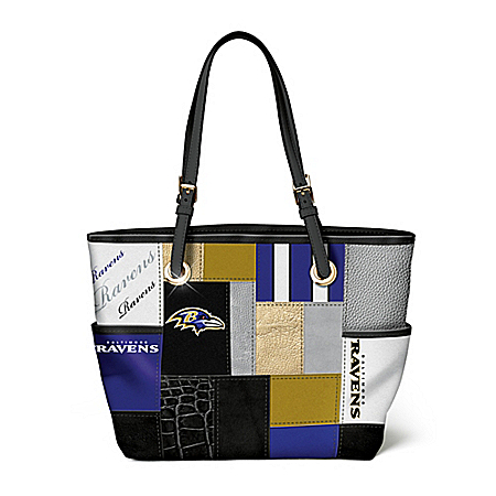 For The Love Of The Game NFL Baltimore Ravens Tote Bag