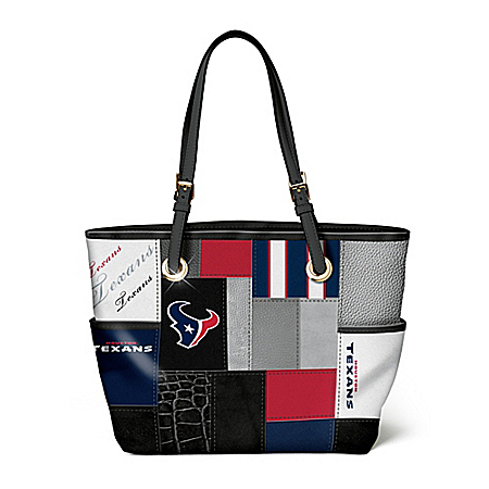 For The Love Of The Game NFL Houston Texans Women's Tote Bag