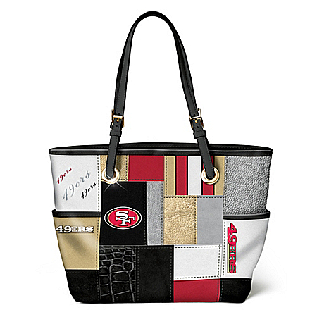 For The Love Of The Game NFL San Francisco 49ers Tote Bag