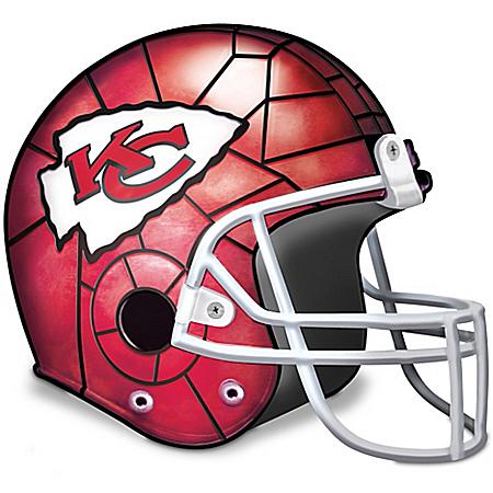 Kansas City Chiefs Football Helmet Accent Lamp