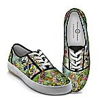 Tim Knepp Animal Kingdom Women's Canvas Shoes