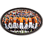 Wall Decor: Going The Distance Denver Broncos Personalized Wall Decor