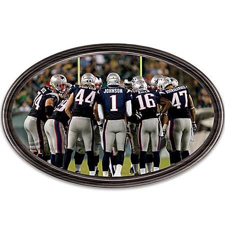 Wall Decor: Going The Distance New England Patriots Personalized Stadium Edition Wall Decor 120375001