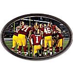 Wall Decor: Going The Distance Washington Redskins Personalized Stadium Edition Wall Decor