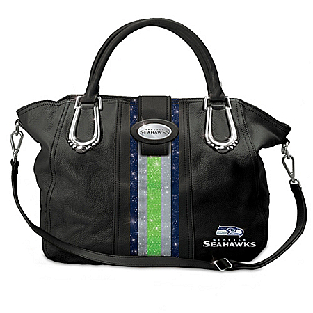 NFL-Licensed Seattle Seahawks Seattle City Chic Handbag