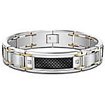 Bracelet - Dressed To Thrill Diamond Men's Bracelet