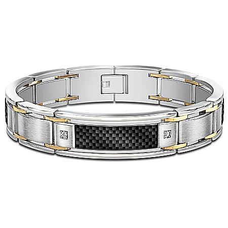 Bracelet: Dressed To Thrill Diamond Men's Bracelet