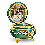 GONE WITH THE WIND 75th Anniversary Limoges-Style Porcelain Music Box