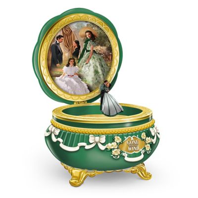 Bradford Exchange GONE WITH THE WIND 75th Anniversary Limoges-Style Porcelain